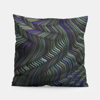 Thumbnail image of Blue Green Wave Pillow, Live Heroes
