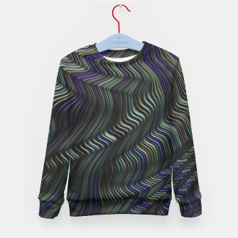 Thumbnail image of Blue Green Wave Kid's sweater, Live Heroes
