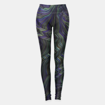 Imagen en miniatura de Blue Green Wave Leggings, Live Heroes