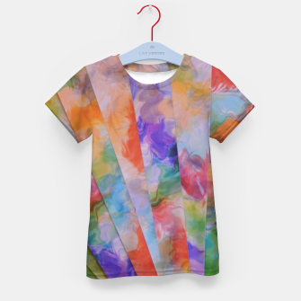 Thumbnail image of Photo Stripes T-Shirt für kinder, Live Heroes