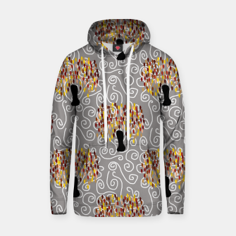Fall Tree Pattern Hoodie thumbnail image