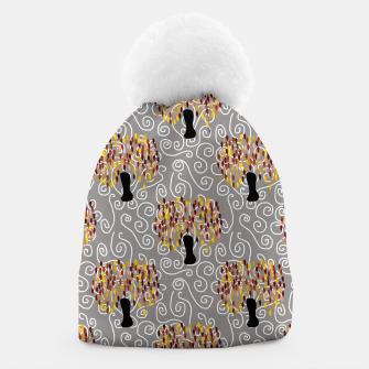 Thumbnail image of Fall Tree Pattern Beanie, Live Heroes