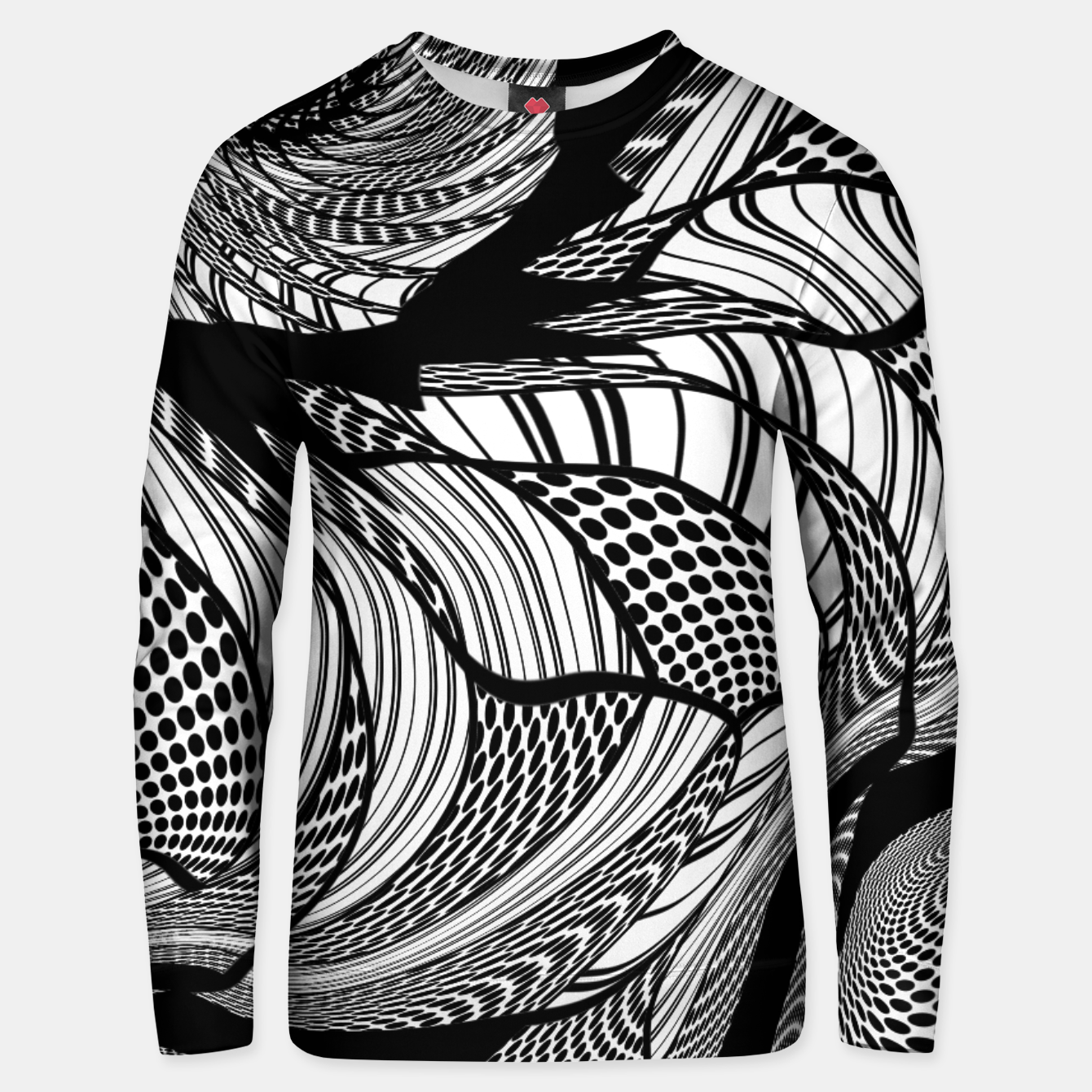 Image of Distortions Ver6 - Unisex sweater - Live Heroes