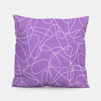 Miniature de image de Abstract pattern - purple. Pillow, Live Heroes