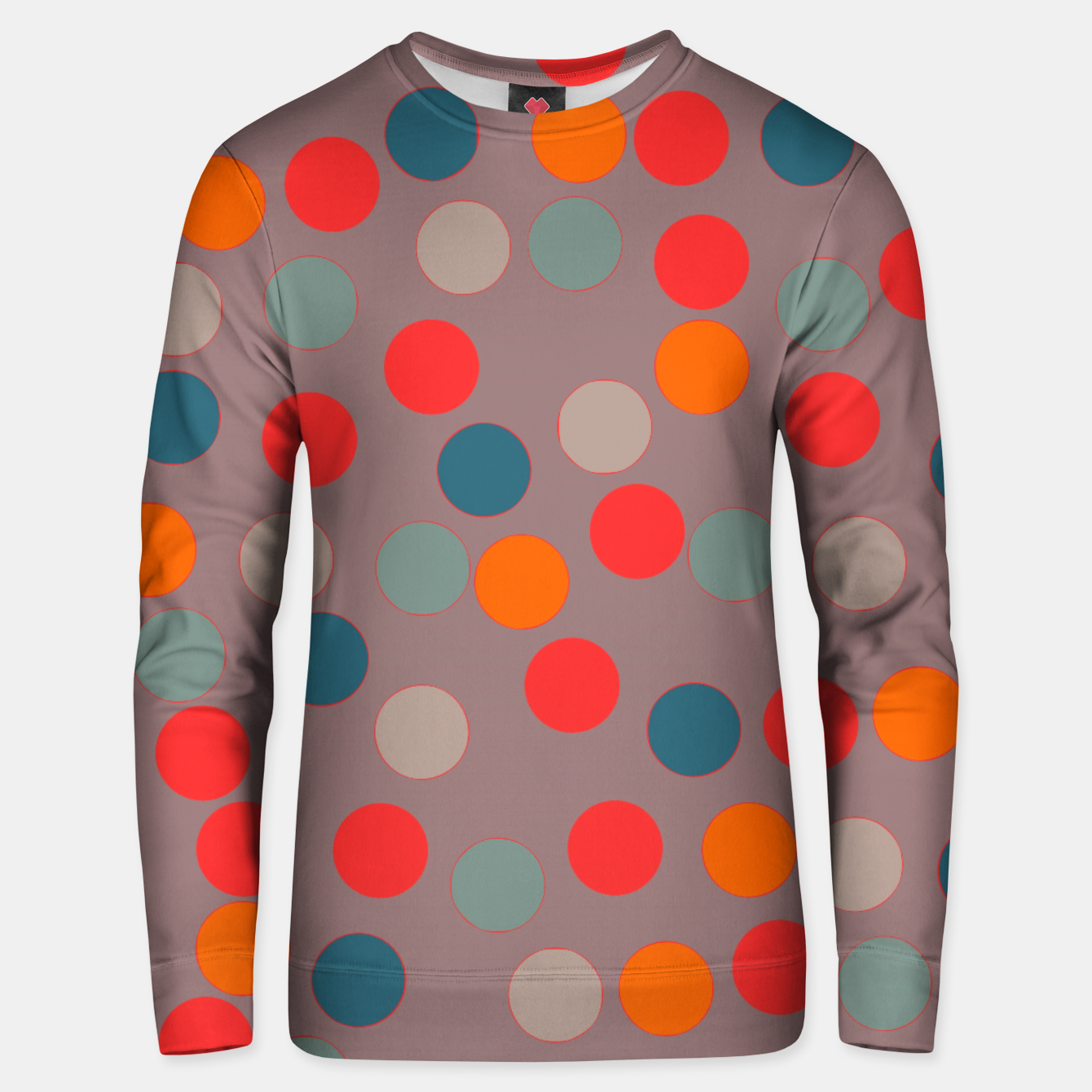 Image of zappwaits - Pattern Unisex sweater - Live Heroes