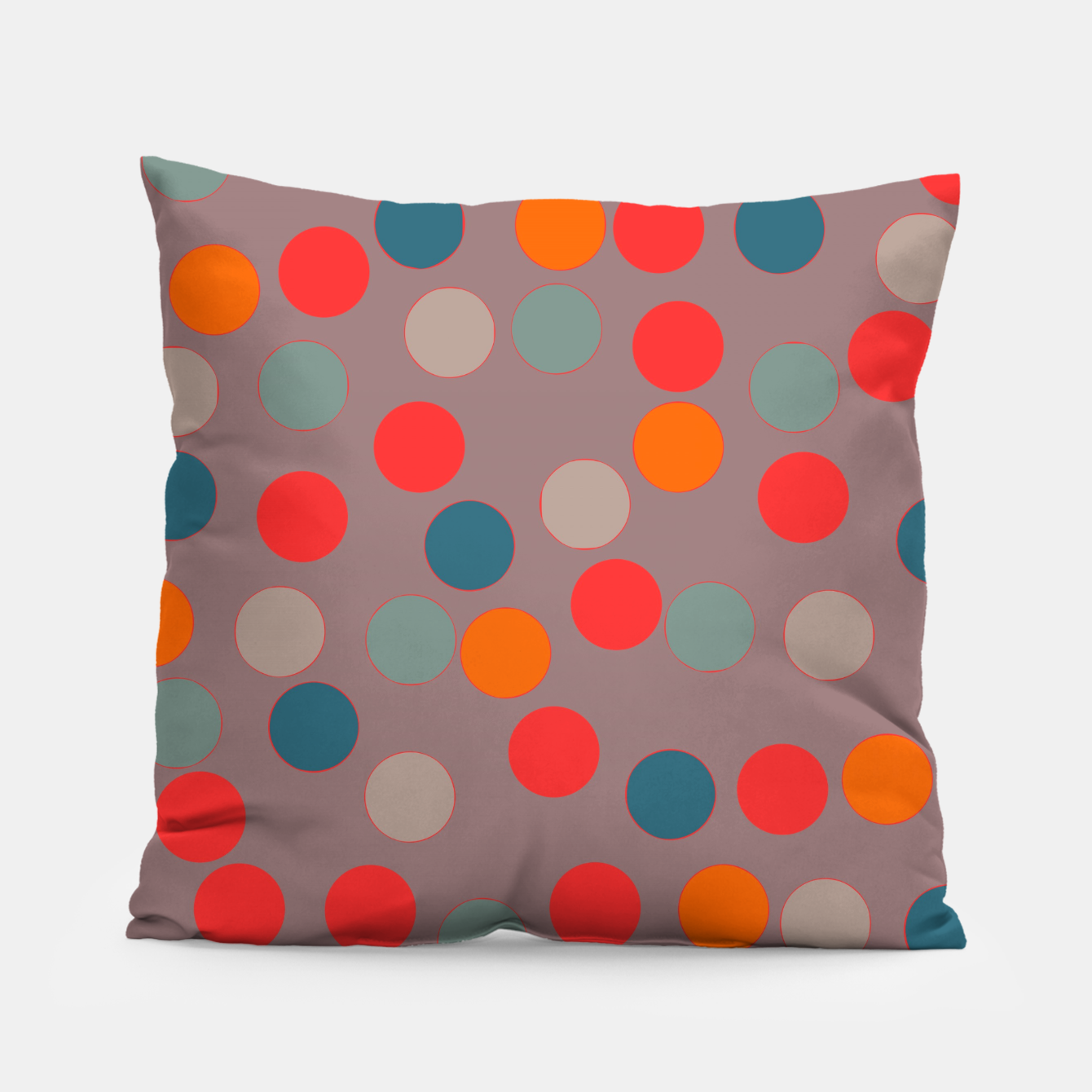 Image of zappwaits - Pattern Pillow - Live Heroes