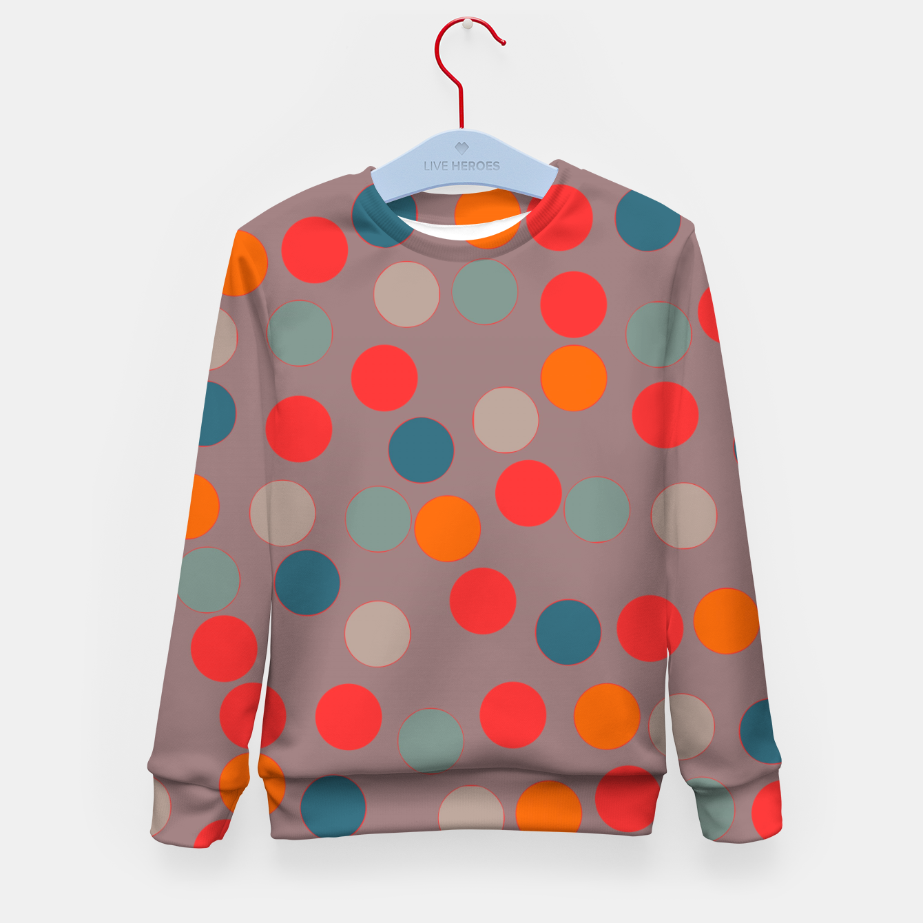 Image of zappwaits - Pattern Kid's sweater - Live Heroes