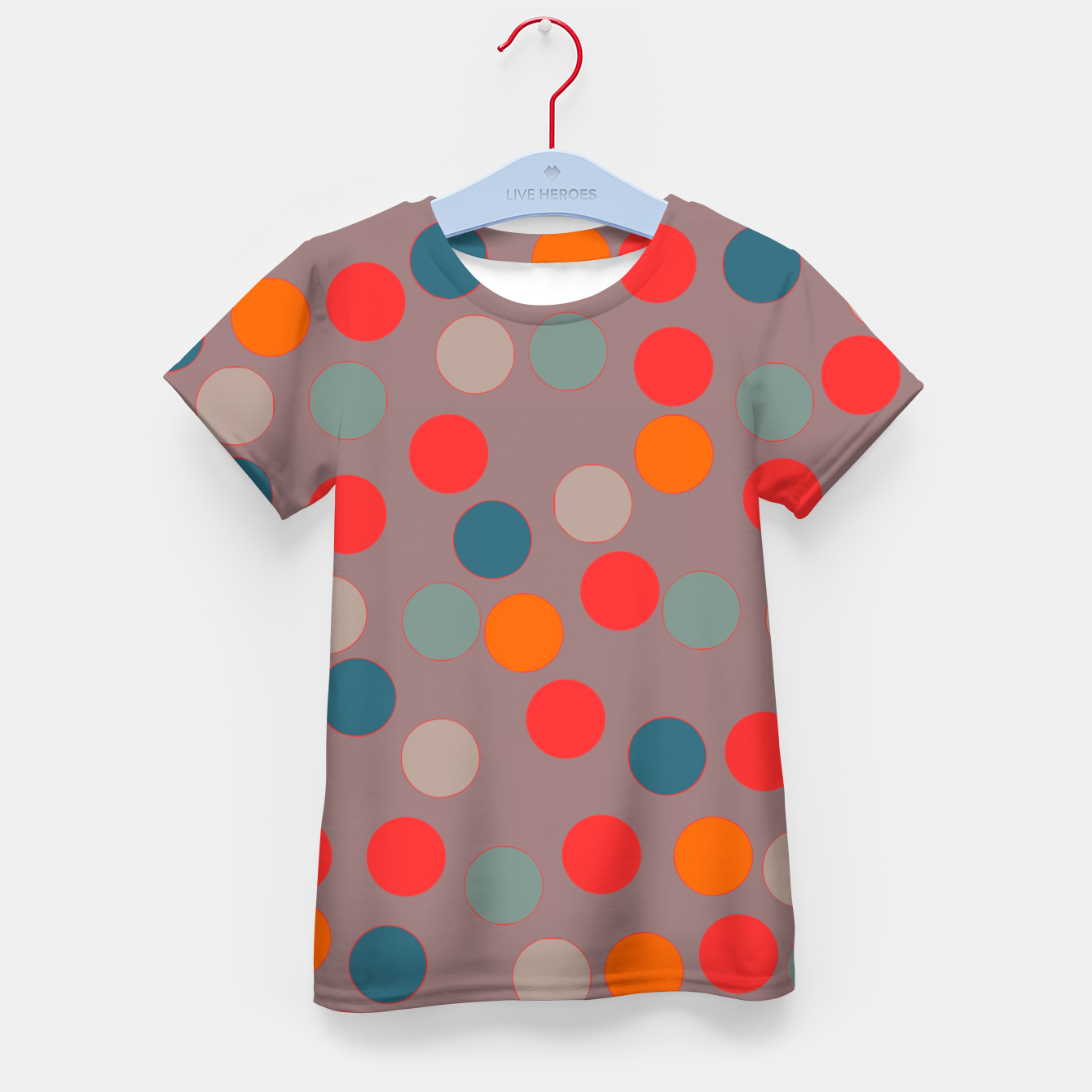 Image of zappwaits - Pattern Kid's t-shirt - Live Heroes