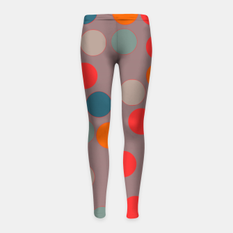 Thumbnail image of zappwaits - Pattern Girl's leggings, Live Heroes