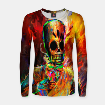 Thumbnail image of grim fandango 2 Women sweater, Live Heroes