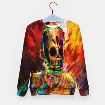 Thumbnail image of grim fandango 2 Kid's sweater, Live Heroes