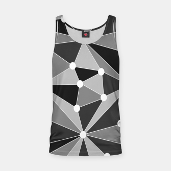 Miniature de image de Abstract geometric pattern - gray, black and white. Tank Top, Live Heroes