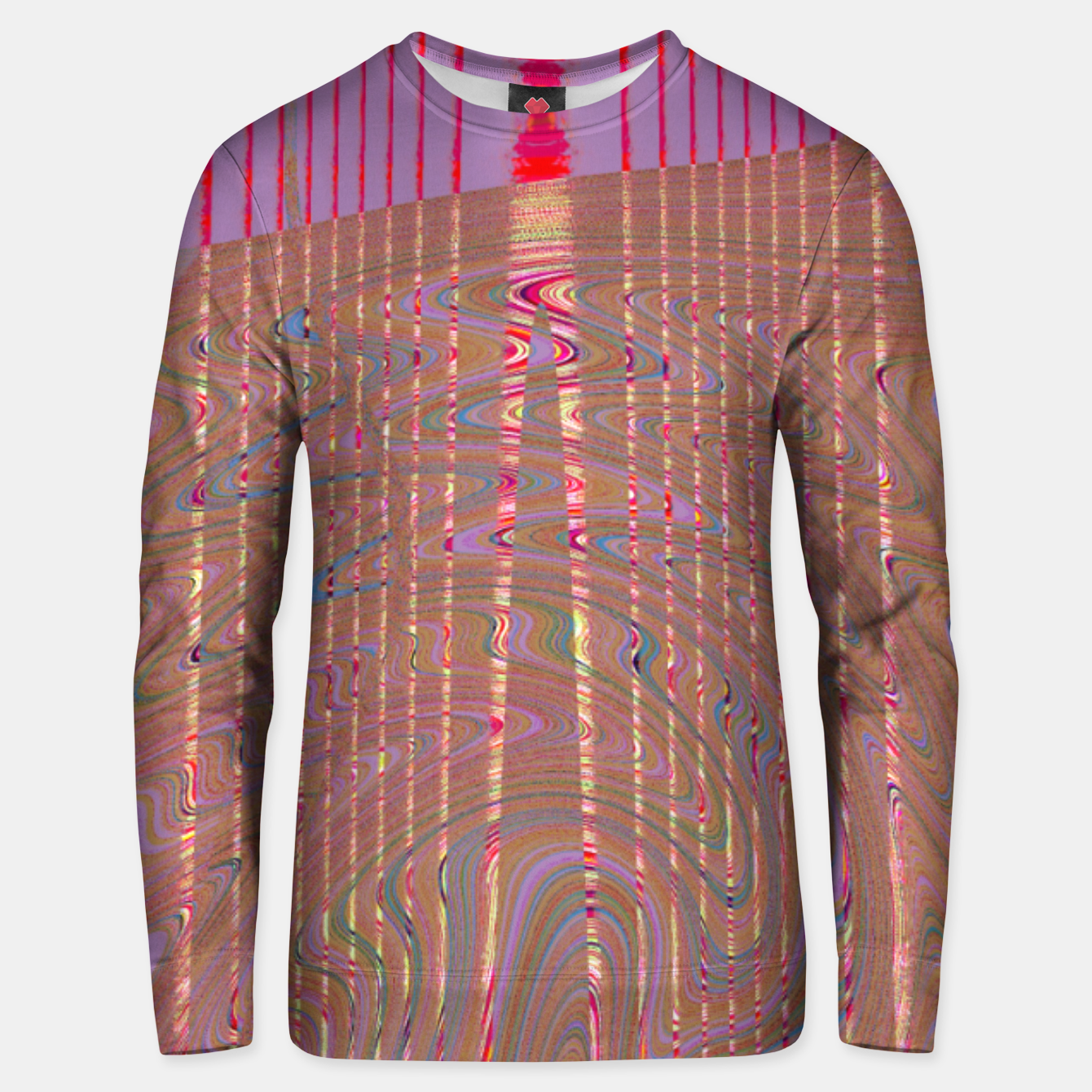 Image of REdgold Unisex sweater - Live Heroes