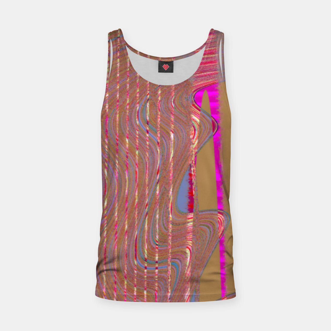 Image of REdgold Tank Top - Live Heroes