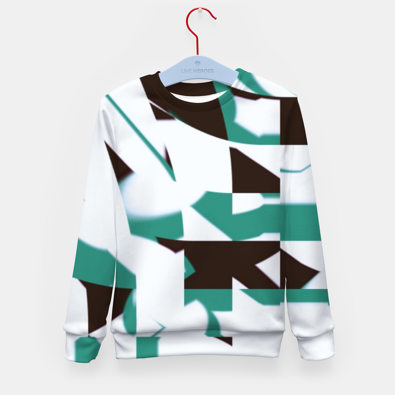 Image of hutry Kid's sweater - Live Heroes