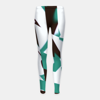 Thumbnail image of hutry Girl's leggings, Live Heroes