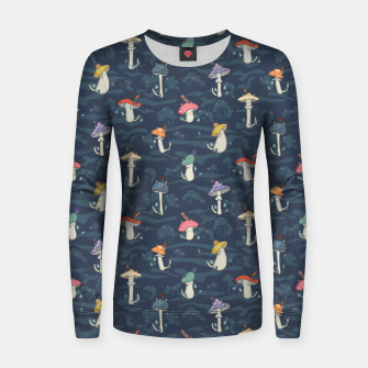 Thumbnail image of Forest ball of the mushroom cats Women sweater, Live Heroes