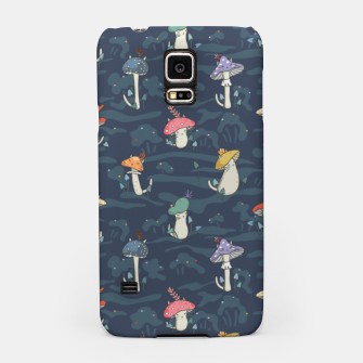 Thumbnail image of Forest ball of the mushroom cats Samsung Case, Live Heroes