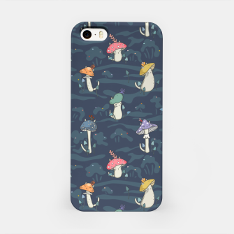 Thumbnail image of Forest ball of the mushroom cats iPhone Case, Live Heroes