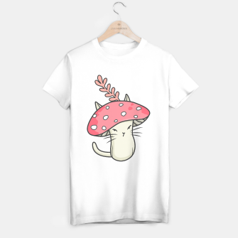 Thumbnail image of Pink amanita catshroom T-shirt regular, Live Heroes
