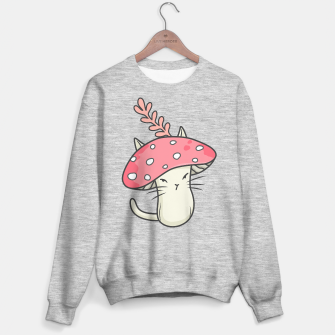 Thumbnail image of Pink amanita catshroom Sweater regular, Live Heroes