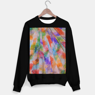 Thumbnail image of Photo Stripes Sweatshirt regulär, Live Heroes