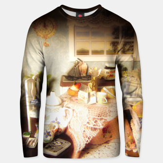 Miniatur dollhouse christmas Unisex sweater, Live Heroes