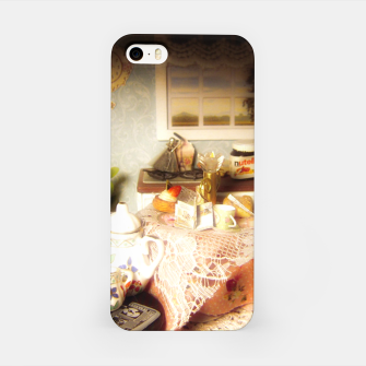 Miniatur dollhouse christmas iPhone Case, Live Heroes