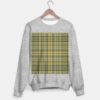 Thumbnail image of yellow plaid Sweater regular, Live Heroes