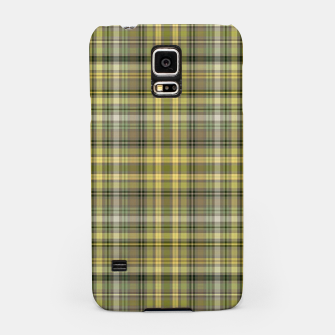 Thumbnail image of yellow plaid Samsung Case, Live Heroes