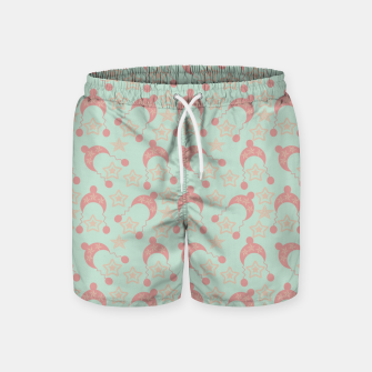 Thumbnail image of mauve winter hat Swim Shorts, Live Heroes