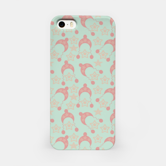Thumbnail image of mauve winter hat iPhone Case, Live Heroes