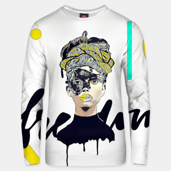 Thumbnail image of Freedom Unisex sweater, Live Heroes