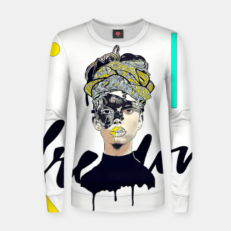 Thumbnail image of Freedom Women sweater, Live Heroes