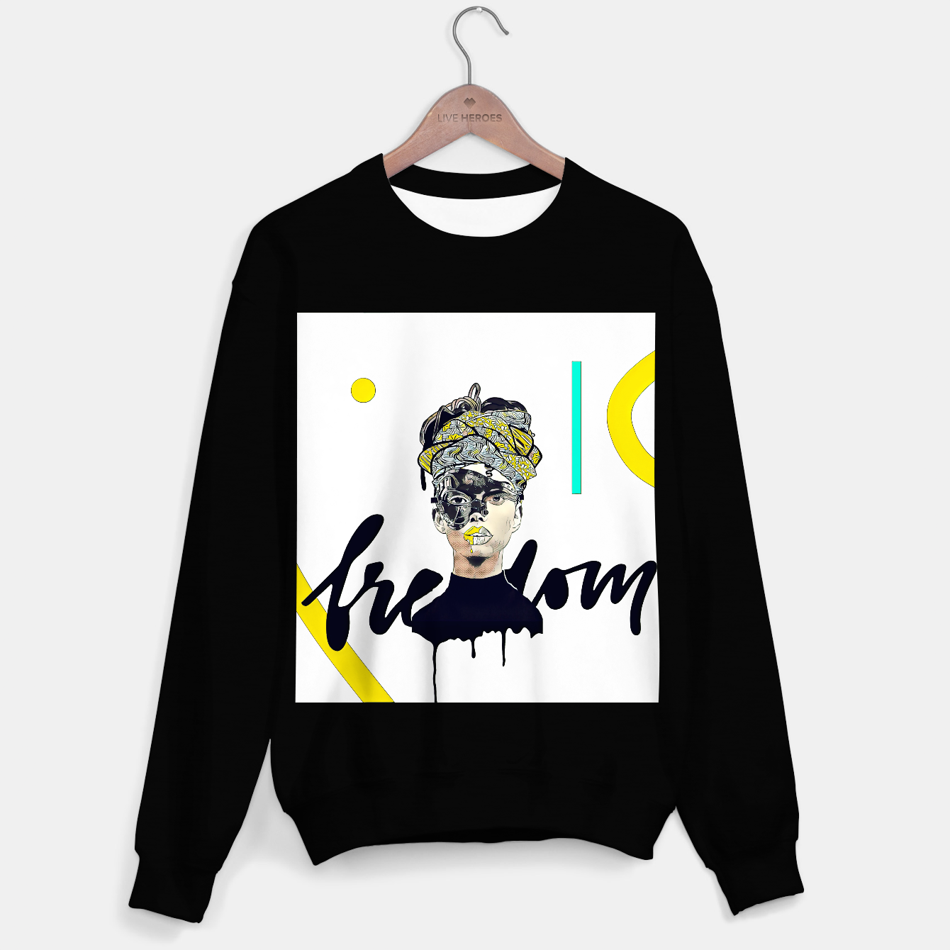 Image of Freedom Sweater regular - Live Heroes