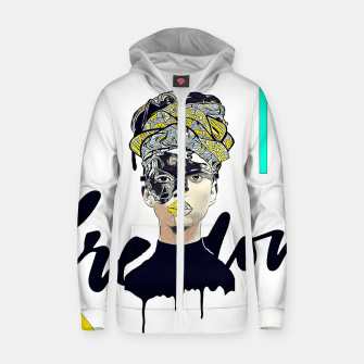 Thumbnail image of Freedom Zip up hoodie, Live Heroes