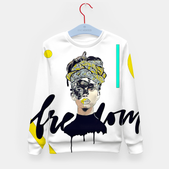 Thumbnail image of Freedom Kid's sweater, Live Heroes