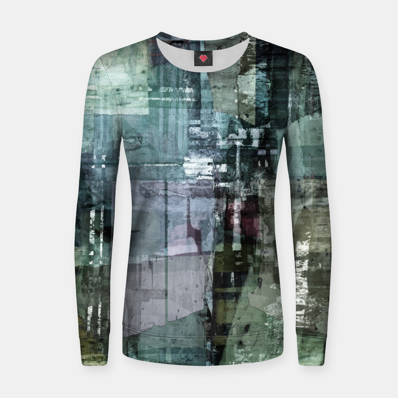 Image of The old house Women sweater - Live Heroes