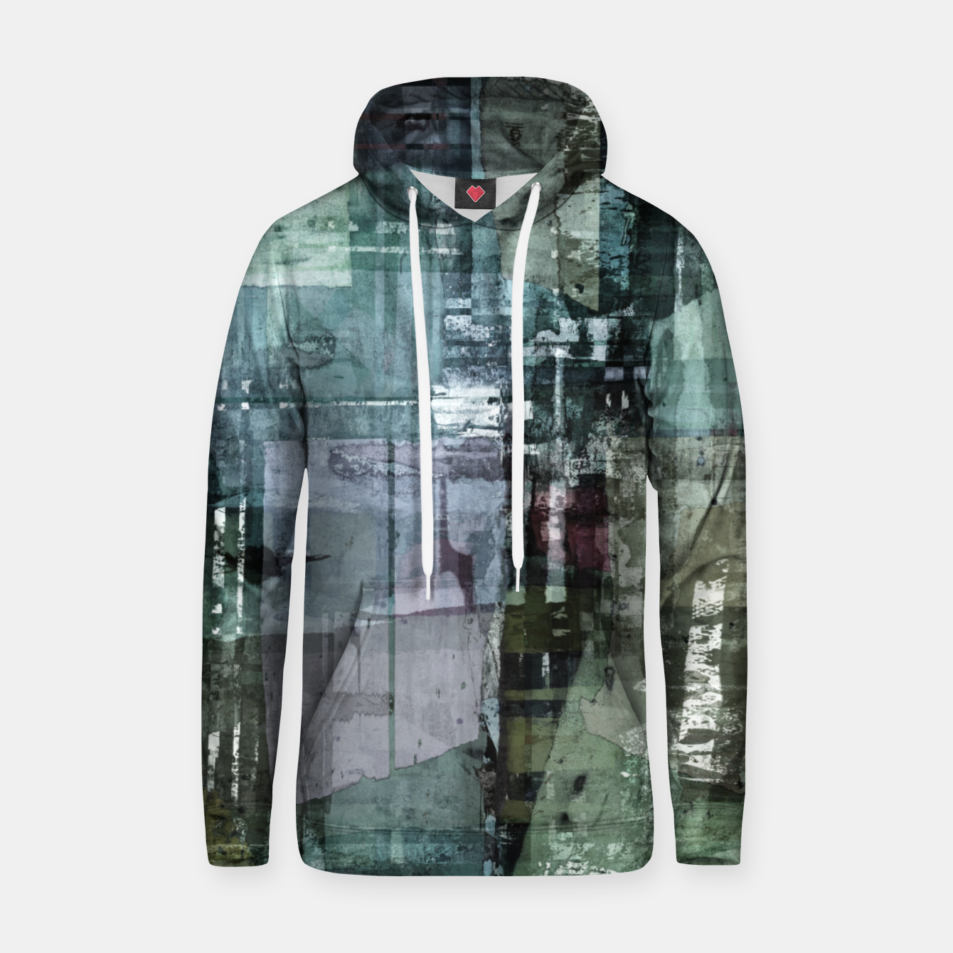 Image of The old house Hoodie - Live Heroes
