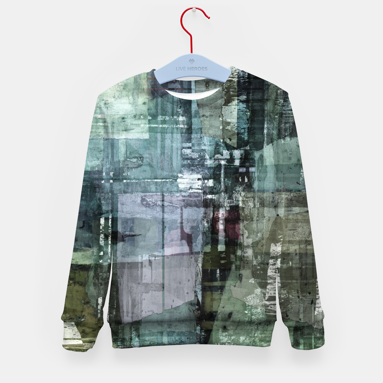 Image of The old house Kid's sweater - Live Heroes