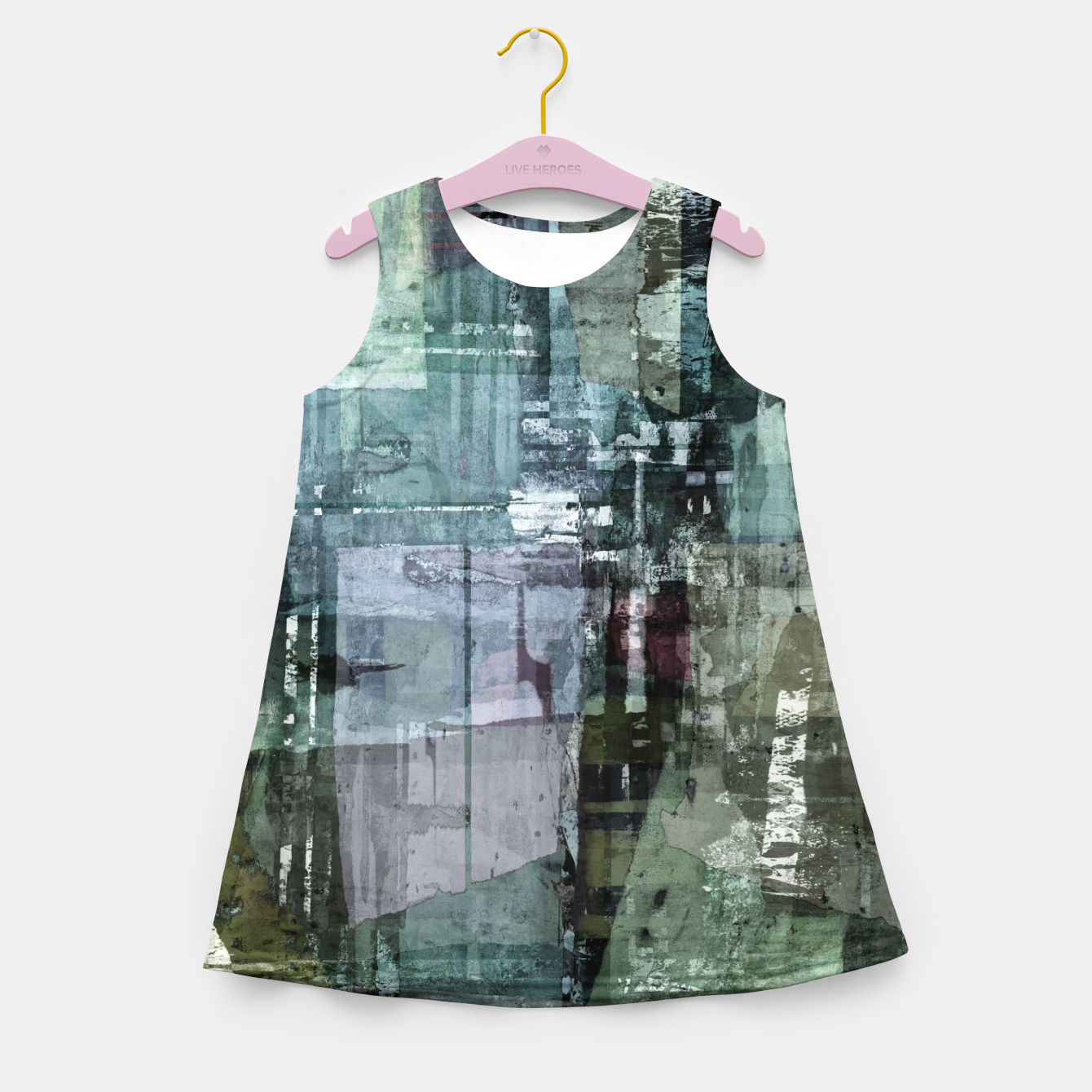 Image of The old house Girl's summer dress - Live Heroes