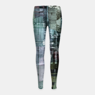 Thumbnail image of The old house Girl's leggings, Live Heroes