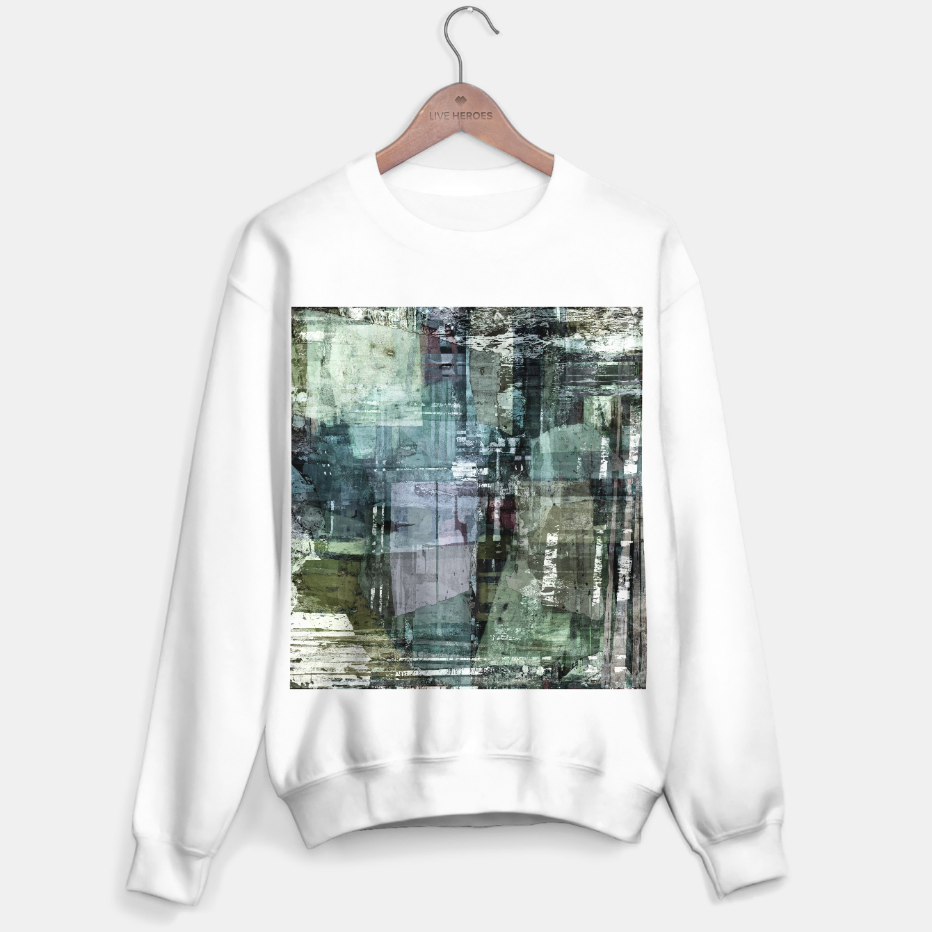 Image of The old house Sweater regular - Live Heroes