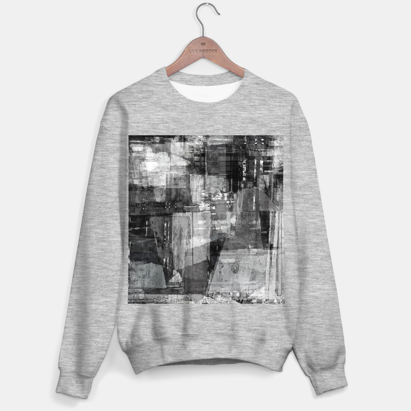 Image of Time travelling Sweater regular - Live Heroes