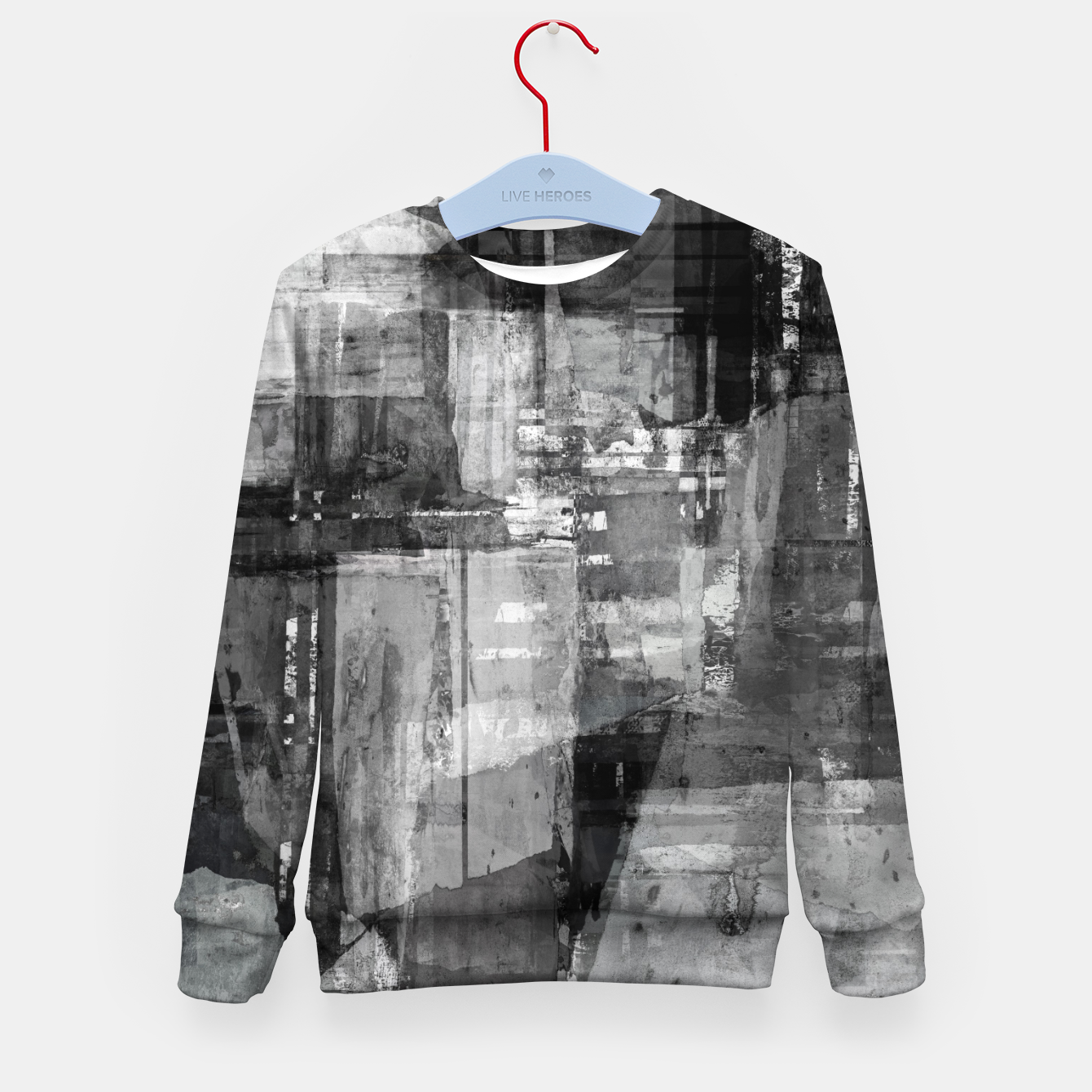 Image of Time travelling Kid's sweater - Live Heroes