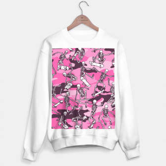 Thumbnail image of Grim Ripper Skater Camo PINK Sweater regular, Live Heroes