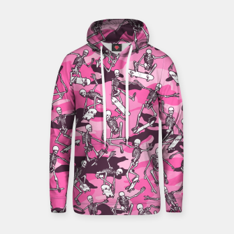 Thumbnail image of Grim Ripper Skater Camo PINK Hoodie, Live Heroes