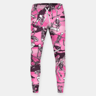 Thumbnail image of Grim Ripper Skater Camo PINK Sweatpants, Live Heroes