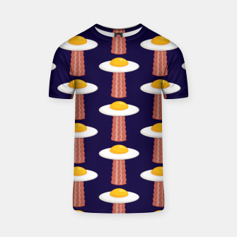 Thumbnail image of Eggstraterrestrial Pattern T-shirt, Live Heroes