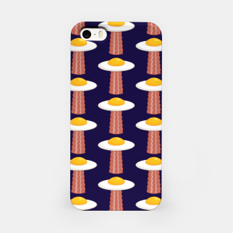 Thumbnail image of Eggstraterrestrial Pattern iPhone Case, Live Heroes